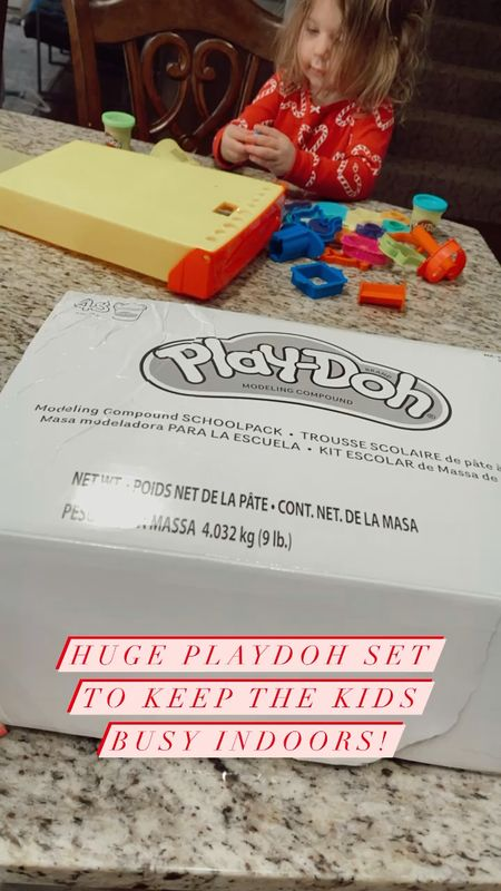 Huge Playdoh sets to keep kids busy indoors! Gifts for kids, birthday gifts for boys, birthday gifts for girls, cold weather activities, kids activities, Walmart finds, the frame tv   #LTKkids #StayHomeWithLTK #LTKfamily