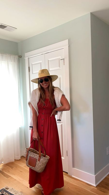 Transitioning my summer maxis into fall - while the sun is still beaming hot // #southernanchors #amazonmaxi  #LTKSeasonal #LTKstyletip #LTKunder50