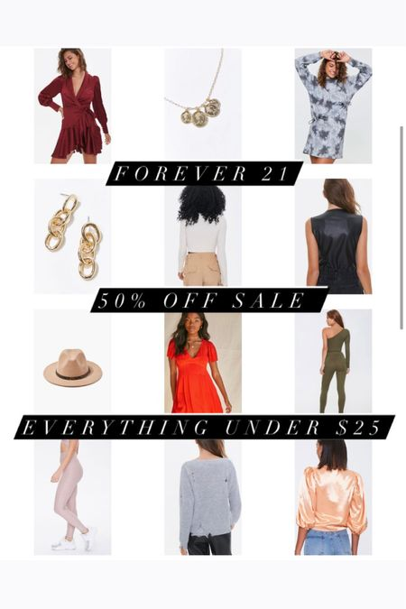 An extra 50% off of clearance at Forever 21! So many cute #winterstyles and #springstyles available!! http://liketk.it/35CI2 #liketkit @liketoknow.it
