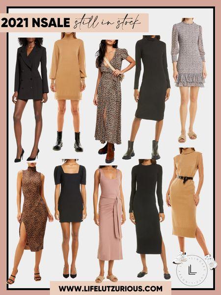 Dresses for fall still in stock from the Nordstrom sale! #nsale #dress #fall #sweaterdress   #LTKstyletip #LTKsalealert