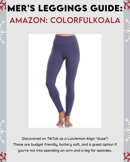 Best BUDGET leggings #amazonfind #leggingsguide #amazon #LTKfit #LTKunder50 #LTKgiftspo http://liketk.it/322C8 #liketkit @liketoknow.it