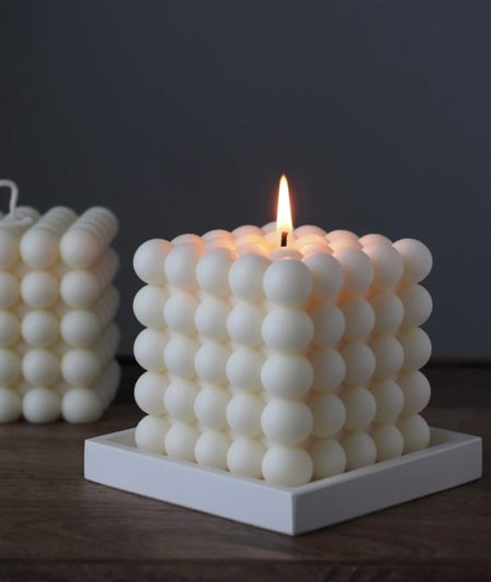 The most gorgeous bubble candles for under $35.   #LTKunder50 #LTKstyletip #LTKGiftGuide