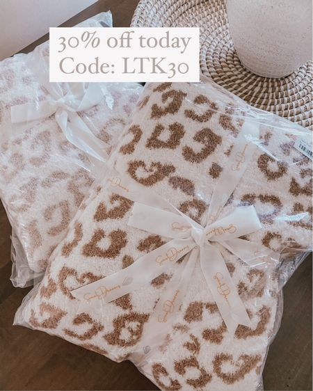 Barefoot Dreams leopard Dupe blanket 30% off today for LTK day @liketoknow.it http://liketk.it/3hkCG #liketkit #LTKDay #LTKsalealert #LTKhome