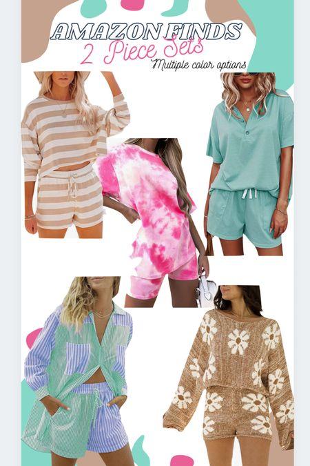 Amazon finds: 2 piece sets with so many color options. #LTKstyletip #LTKtravel #LTKunder50 #amazonfashion http://liketk.it/3jEne #liketkit @liketoknow.it