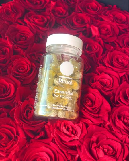 Women don't get all the daily nutrients that their body needs just from their diet, so Ritual has made 9 essential ingredients (Vitamin B12, D2, E, K2, Omega 3, Folate, Iron, Magnesium, & Boron) all infused into one minty capsule.  Another plus is that they are Vegan, Gluten, Allergen free, Non-GMO and have no colorants or synthetic fillers. Everything is backed by science (just how we like it)!   #ritual #ritualvitamins #vitamins http://liketk.it/2OG2L #liketkit @liketoknow.it #LTKunder100 #LTKunder50 #LTKbeauty