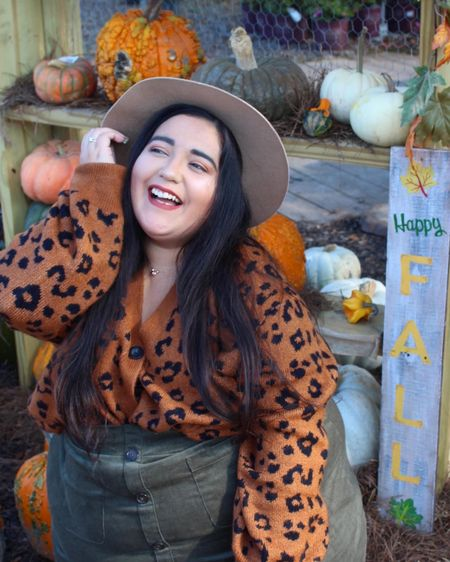 Happy fall! I found the cutest leopard sweater that I have been loving for fall! It's so warm and cozy, it'll be perfect for winter too! http://liketk.it/2ZxV1 #liketkit @liketoknow.it #LTKcurves #LTKunder50 #LTKstyletip
