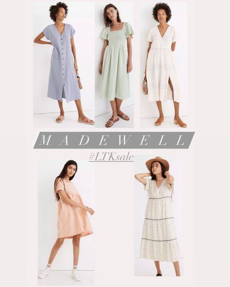 Madewell summer dresses. LTK sale   #LTKbeauty #LTKstyletip #LTKsalealert @liketoknow.it #liketkit http://liketk.it/3hjCQ