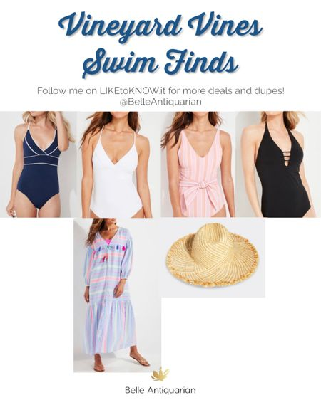 Adorable and flattering swimsuits from Vineyard Vines. I love this colorful coverup, too! Follow me on LIKEtoKNOW.it for more deals and dupes! 🥰  #LTKswim #LTKSeasonal #LTKSpringSale