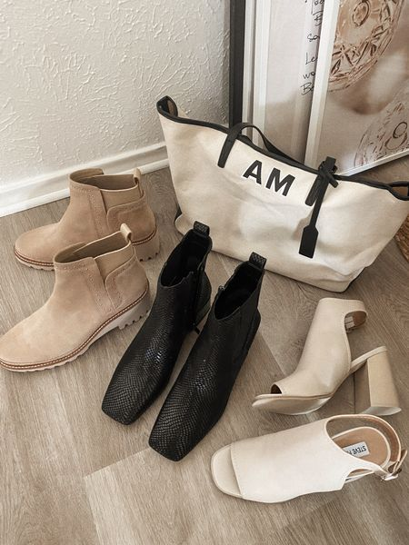 Nordstrom shoe picks in stock 🤍 Love the suede booties for Fall, the black square toe are too fabulous to dress jeans up, and the chunky heels are AMAZING + come in other colors   #LTKstyletip #LTKsalealert #LTKshoecrush