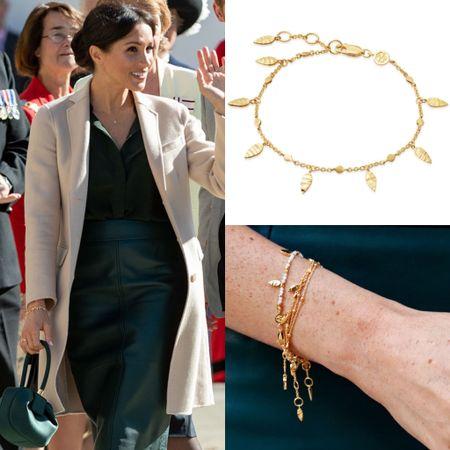 Missoma leaf bracelet at Nordstrom #accessories #gold  #LTKstyletip #LTKeurope
