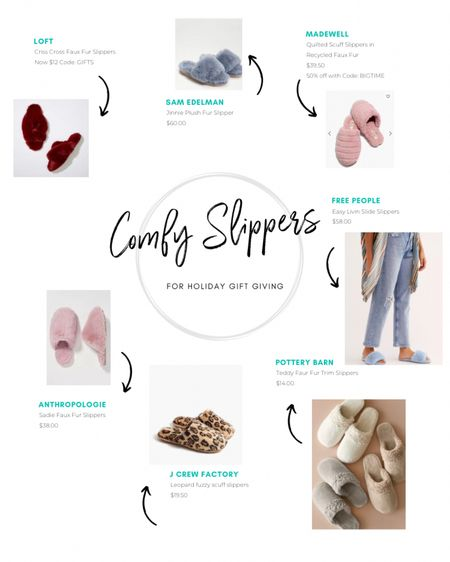 Comfy Slippers are always the perfect gift! Here are some of my faves! Download the LIKEtoKNOW.it shopping app to shop this pic via screenshot http://liketk.it/33ZKr #liketkit @liketoknow.it #LTKgiftspo #StayHomeWithLTK #slippers