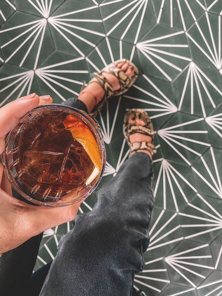 May your shoes be stylish and your cocktail strong. CHEERS y'all, it's FRIDAY!   #LTKstyletip #LTKSeasonal #LTKshoecrush