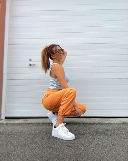 ICYMI there is a Forever 21 try-on haul in my vlog that went live last night ✨🧡 Outfit linked on @liketoknow.it #liketkit http://liketk.it/3hKTJ #forever21 #streetstyle #orangejoggers