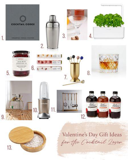 Valentine's Day gift ideas for the cocktail lover   #LTKhome #LTKSeasonal #LTKVDay