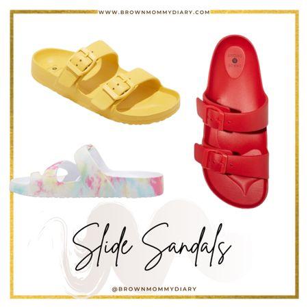 Target Style. Target Finds. Slide Sandals.  http://liketk.it/3d411 #liketkit @liketoknow.it #LTKshoecrush
