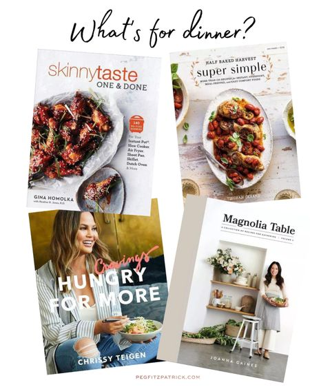 Sick of hearing, what's for dinner? Me too! But these cookbooks have helped answer that question many nights! Half Baked Harvest's Super Simple has some great recipes for week nights. http://liketk.it/3fbVq #liketkit @liketoknow.it #LTKhome #LTKunder50 @liketoknow.it.home Download the LIKEtoKNOW.it shopping app to shop this pic via screenshot