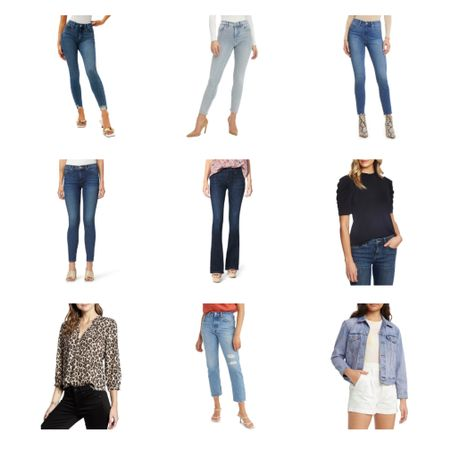 Did someone say denim? Nothing comes between me and my baby blues. I've narrowed down my top picks on the last day of the #nsale! Are you a skinny or wide like kind of gal? 👖  #LTKstyletip #LTKsalealert #LTKfamily