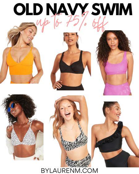 Old Navy Swim Sale. Up to 70% off. Bikini's. Bikini tops and bikini bottoms. @Oldnavy http://liketk.it/3j6h0 #liketkit @liketoknow.it #LTKswim #LTKtravel #LTKsalealert #bikini #oldnavy #swim #pool #beach #summer #sale