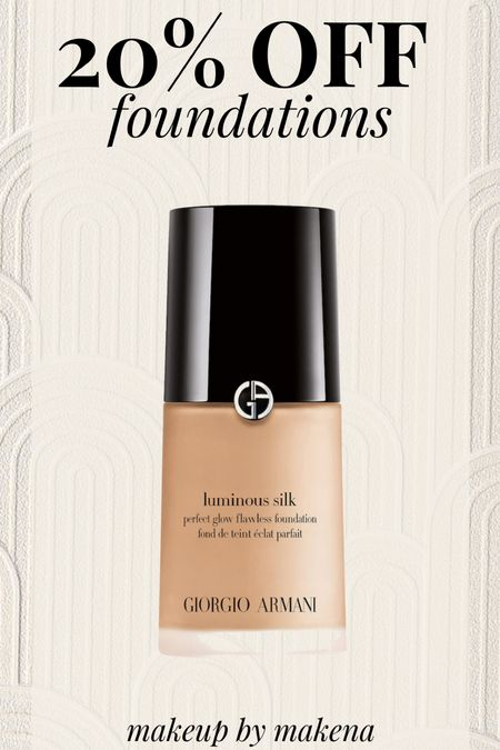Use code 'SAVE20' online at Sephora to save 20% on any foundation through 9/20. This has been on my wishlist for ages, and I finally ordered it.     #LTKbeauty #LTKunder50 #LTKsalealert