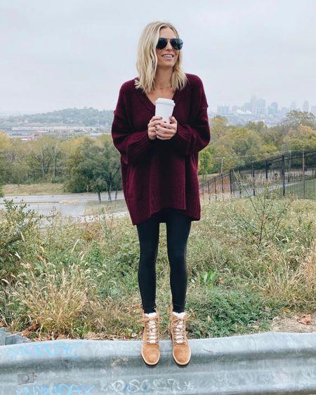 Favorite free people sweater still on SALE! Plus my favorite Marc fisher winter boots are back in stock   #LTKunder100 #LTKsalealert #LTKshoecrush