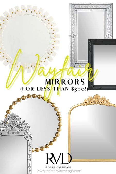 Ornate mirrors are SUPER in right now, and are probably the most popular decor item that my clients are asking for in their designs. Mirrors can be expensive, but they don't always have to be! I'm sharing my best, most affordable mirrors from Wayfair. Snag them before they're gone!  .  http://liketk.it/3ehCI #liketkit @liketoknow.it @liketoknow.it.home Follow me on the LIKEtoKNOW.it shopping app to get the product details for this look and others!