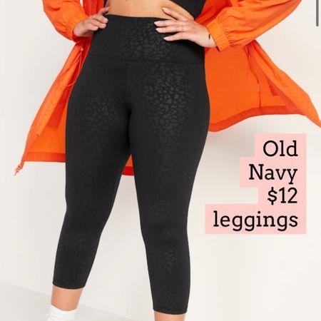 Old navy leggings on sale   #LTKfit #LTKunder50 #LTKsalealert