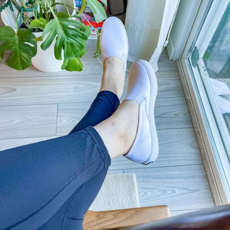 New Summer Shoes 👟 I love how these @keds makes my feet look so slim! So comfy too!   http://liketk.it/3hP1E #liketkit @liketoknow.it Shop your screenshot of this pic with the LIKEtoKNOW.it shopping app @liketoknow.it.family @liketoknow.it.home @liketoknow.it.europe @liketoknow.it.brasil #LTKshoecrush #LTKfit #LTKstyletip #ltkday #white #shoes #slipons #sneakers #keds #ootd #shoecrush #comfystyle