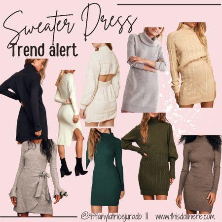 Fall fashion, family photo outfit inspo, sweater dress,   #LTKworkwear #LTKSeasonal #LTKstyletip