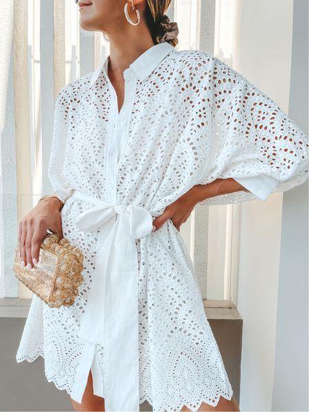Little white dress cellajaneblog