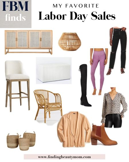 Labor Day sales, home sales, rattan, bar stools, fall outfits, over the knee boots, media console, mcgee, baskets, wicker, leggings, bottles, cardigans, living room, kitchen   #LTKsalealert #LTKhome