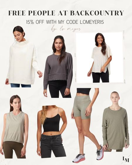Lots of great free people finds at Backcountry + all on sale with my code LOMEYER15!! 🙌🏼🙌🏼  #LTKsalealert #LTKunder100 #LTKfit
