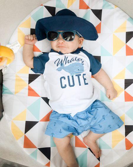 Baby pool essentials, baby beach essentials, baby swimsuit, baby sun protection, baby sunglasses http://liketk.it/3h0kc #liketkit @liketoknow.it #LTKkids #LTKbaby #LTKunder50