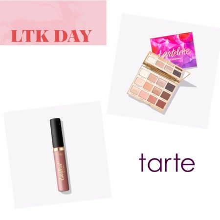 TARTE is one of my favorite make up brands! I love their eye shadow pallets, lip paint, and blush! #liketkit #LTKDay #LTKbeauty @liketoknow.it http://liketk.it/2SBeb