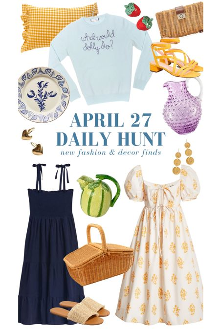 A handful of my April 27 finds! Shop them all on the Daily Hunt page of KatieConsiders.com @liketoknow.it #liketkit http://liketk.it/3e0X4