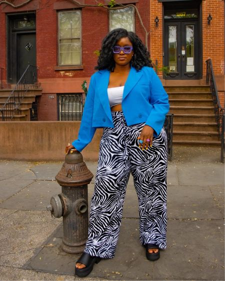 A bold and colorful summer officially announced over at wonderFro land make sure to follow me on Instagram @wonder.Fro for more looks  #LTKshoecrush #LTKstyletip #LTKcurves