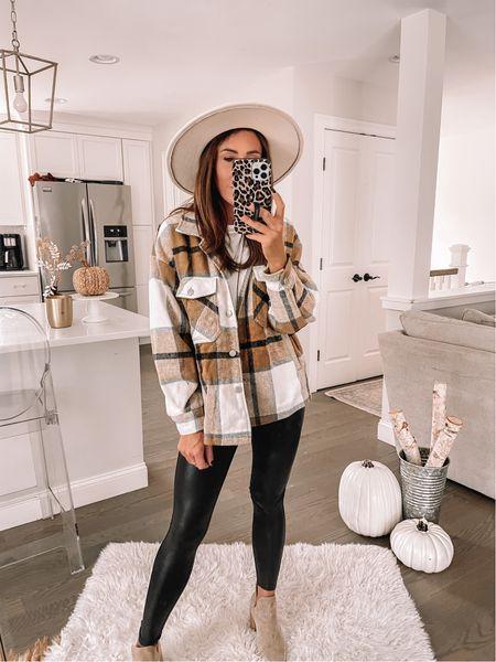 Amazon shacket Amazon fashion   #LTKunder50 #LTKSeasonal #LTKstyletip