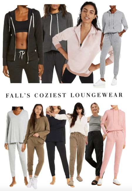The coziest loungewear looks and sets for fall. Comfy joggers   #LTKSeasonal #LTKstyletip #LTKGiftGuide