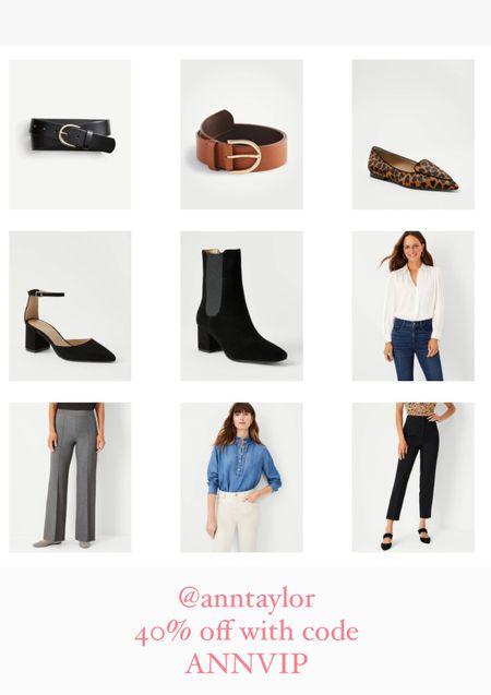 Ann Taylor  40% off Code ANNVIP  #liketkit #LTKworkwear #LTKsalealert #LTKunder100
