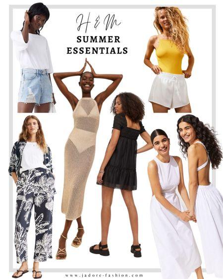 Summer essentials and favorites from H&M   #LTKSeasonal #LTKunder100 #LTKunder50