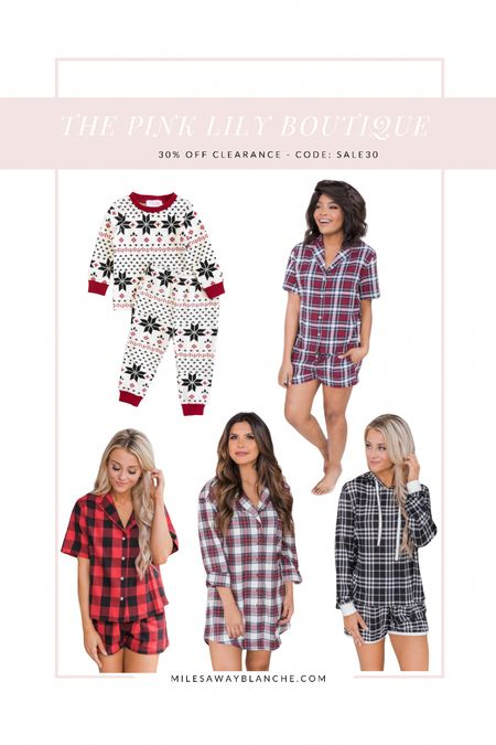 Holiday pajamas - loungewear clearance with additional 30% off!   #LTKHoliday #LTKstyletip #LTKunder50