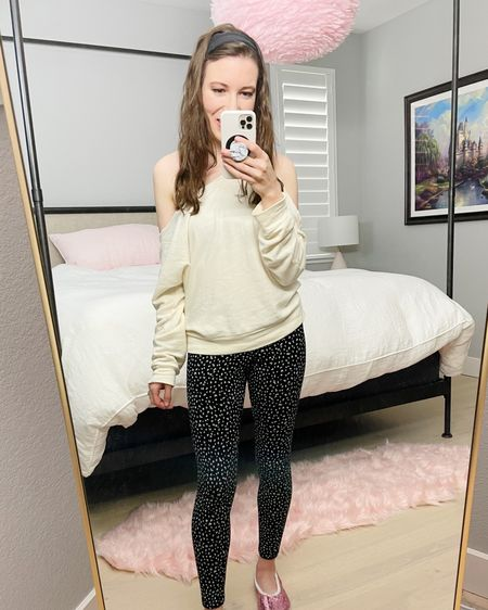 Cozy-lined Cheetah Print Old Navy Leggings  Loungewear  Wearing size XS in both top and leggings.   http://liketk.it/37sNQ #liketkit @liketoknow.it #LTKSeasonal #LTKVDay #LTKsalealert