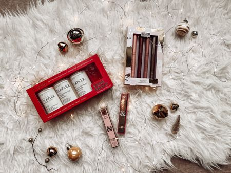 Olaplex limited edition holiday gift set for hair is the perfect gift for her this holiday season! Gifts for best friend gifts for girlfriend Tarte makeup bundles Sephora finds   #LTKGiftGuide