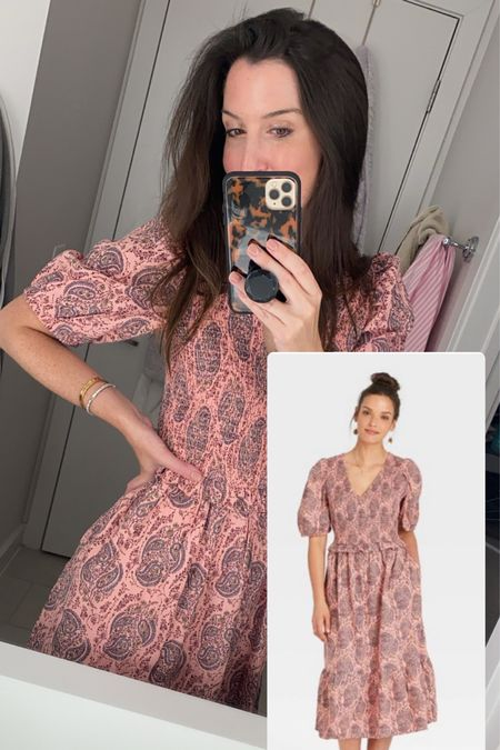 Perfect for transitioning to the Fall season = this new dress! Under $30 and comes in 3 colors. I take an XS. Be sure to check your zip code if it looks sold out! #targetstyle #targetdress #target  #LTKunder50 #LTKunder100 #LTKSale