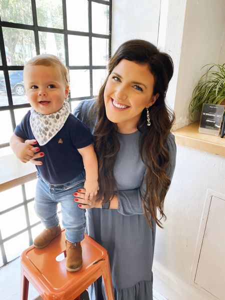 I hope you are always a Mama's Boy 👶🏻❤️   Spent the morning in St. Augustine with my boys! We went to mass at the Bascilica, where Joseph and I got married. Then walked Nextdoor to @thekookaburra for Aussie Pies and Coffee 🥰   Linked John Lukes Top and shoes are both on SALE! Shop: http://liketk.it/3eSum @liketoknow.it #liketkit #LTKsalealert #LTKunder50 #LTKbaby