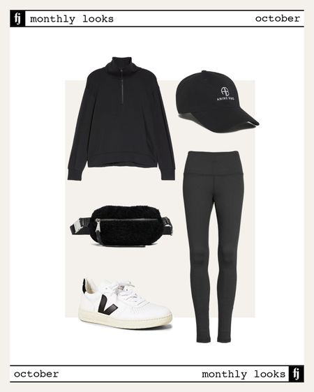 October fall outfit idea #falloutfits  #LTKstyletip #LTKunder100 #LTKfit