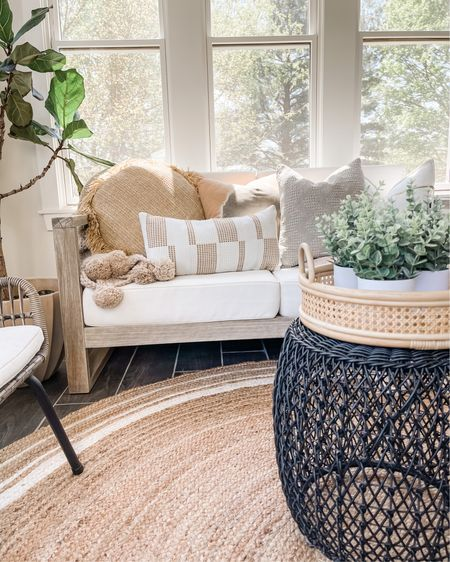 Indoor outdoor rug and furniture✨ http://liketk.it/3eJA2 #liketkit @liketoknow.it #LTKsalealert #LTKunder100 #LTKhome @liketoknow.it.family @liketoknow.it.home You can instantly shop all of my looks by following me on the LIKEtoKNOW.it shopping app