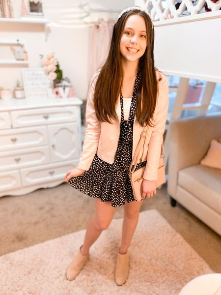 Moto jacket        Dress is linked on sequinsandsatin.com under the thanksgiving outfits post