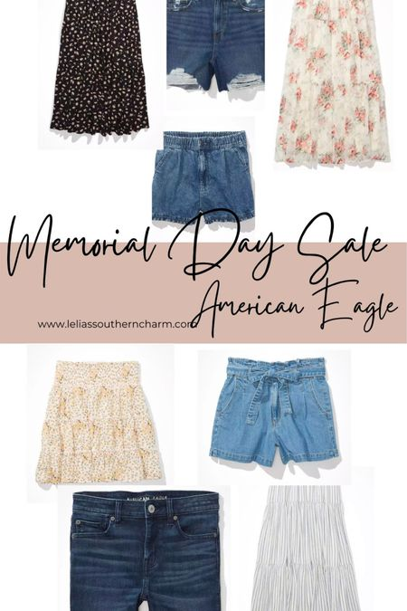 30% off shorts and skirts from American Eagle! Perfect for the Summer!! http://liketk.it/3guq4 #liketkit @liketoknow.it #LTKcurves #LTKsalealert #LTKunder50