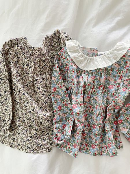 Love these toddler girl tops for fall! Such a good Amazon find. They run large, size down! Olivia is 4 and the 2-3T is plenty big!  #LTKunder50 #LTKkids #LTKSeasonal