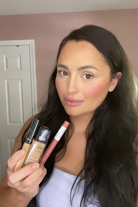 Daily Drugstore Makeup Routine 💄  #maybelline #drugstore #everydaymakeup #mommakeup #momroutine #5minutemakeup   #LTKbeauty #LTKsalealert #LTKstyletip